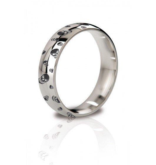 MyStim His Ringness The Earl 48mm - pierścień erekcyjny (grawerowany)