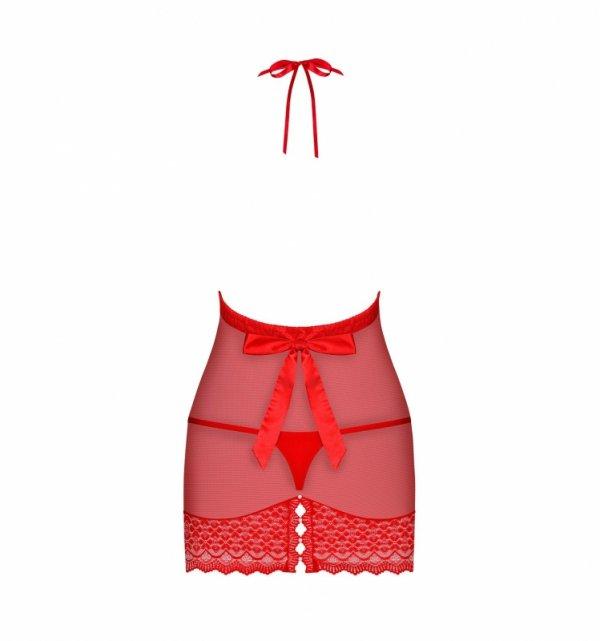 Obsessive 822-CHE-3 koszulka czerwona L/XL