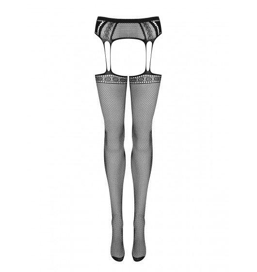 Garter stockings S227 S/M/L