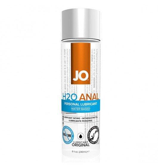 System JO Anal H2O Lubricant  240 ml - lubrykant analny na bazie wody