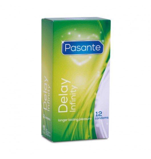 Pasante Delay - Prezerwatywy opóźniające wytrysk (1op./12szt.)