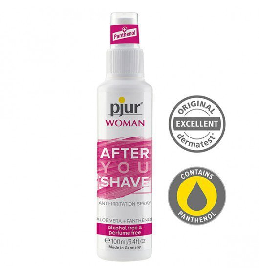Pjur Woman After You Shave Spray 100 ml - regenerujący spray do depilacji