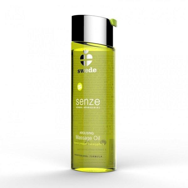 Swede Senze Massage Oil - olejek do masażu 150 ml (cytryna - pieprze - eukaliptus)