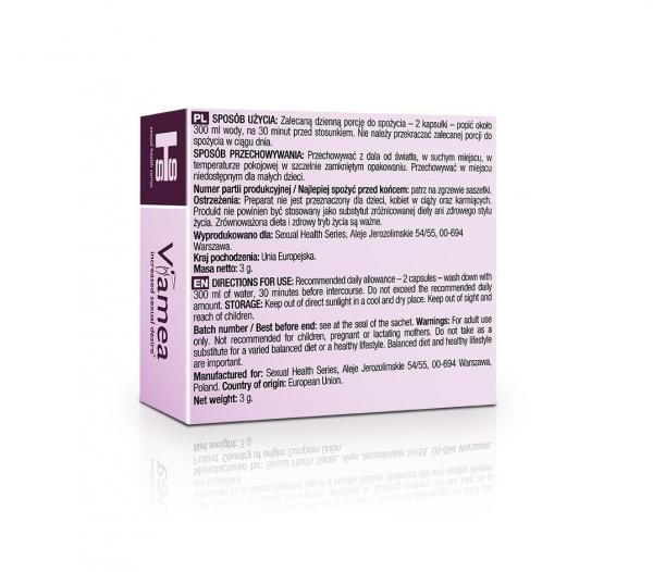 Viamea – 4 kapsułki (tabletki) na potencję u kobiet