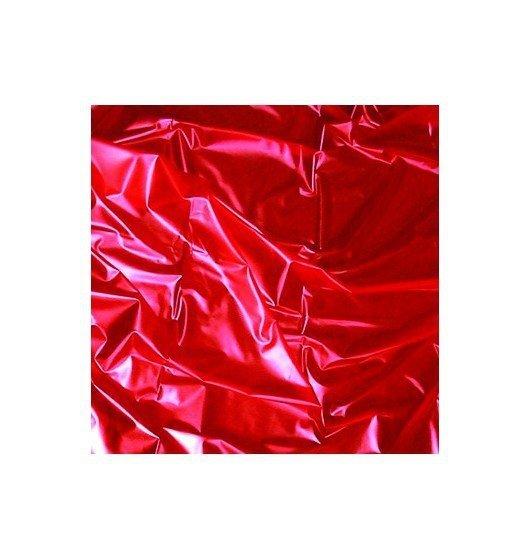 Joydivision - prześcieradło winylowe SexMAX WetGAMES Sex-Laken, czerwone (180 x 220)