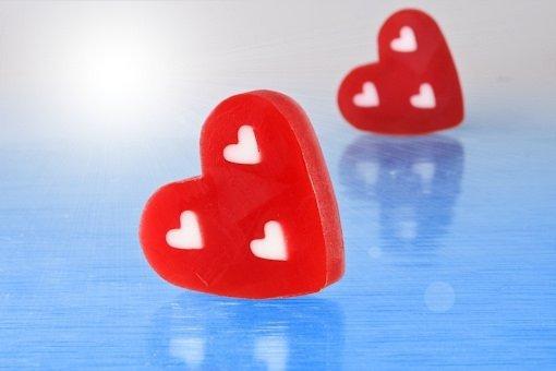 Mydło Erotic szkarłatne serce 100g