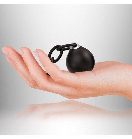 Wibrująca kulka gejszy Rocks-Off Lust Linx Ball and Chain (10 prędkości) (czarna)