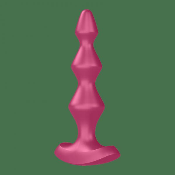 Satisfyer Lolli Plug 1 - wibrujący korek analny (różowy)