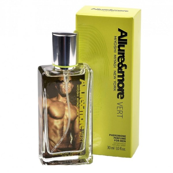 Miyoshi Miyagi Next Allure & More Vert for men 30 ml perfumy z feromonami - męskie