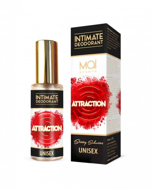 MAI PHEROMONE INTIMATE DEODORANT UNISEX 30ml - perfumy z feromonami dla kobiet i mężczyzn