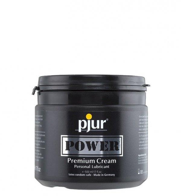 pjur Power 500 ml - lubrykant na bazie silikonu