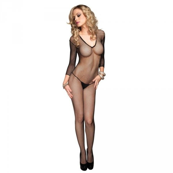 Leg Avenue Bodystocking z dekoltem V
