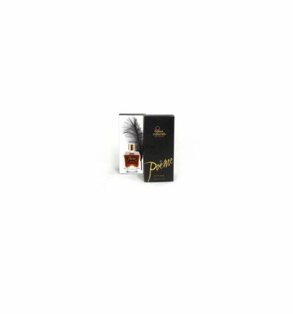 Atrament jadalny z piórkiem Bijoux Indiscrets - Poeme - Butter Caramel