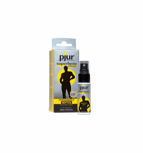 pjur superhero STRONG PERFORMANCE spray 20 ml
