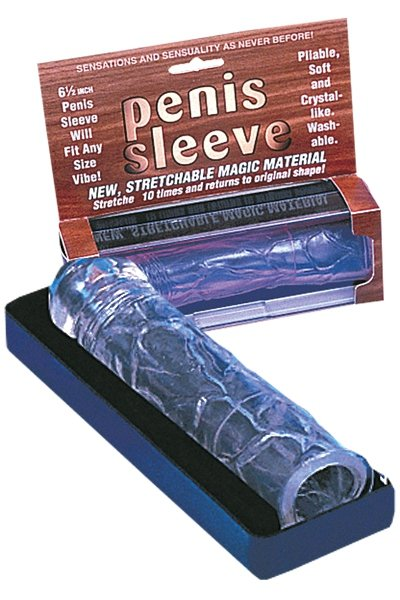 New Stretchable 6.5 Penis Sleeve clear
