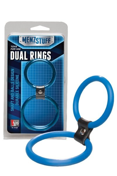 MenzStuff Dual Rings Blue
