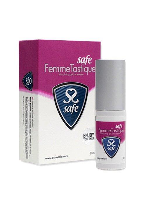 Safe FemmeTastique is a stimulating gel for women