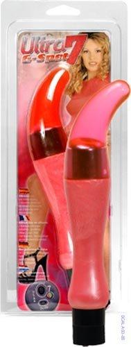 Ultra 7 G-Spot Vibrator Pink