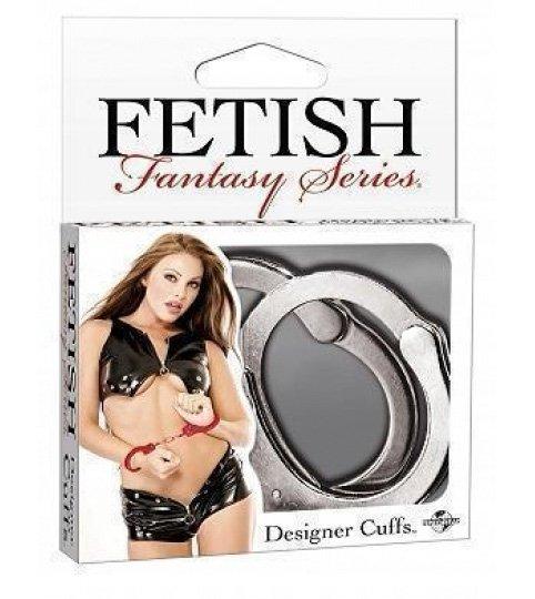 Ff Designer Cuffs - Silver