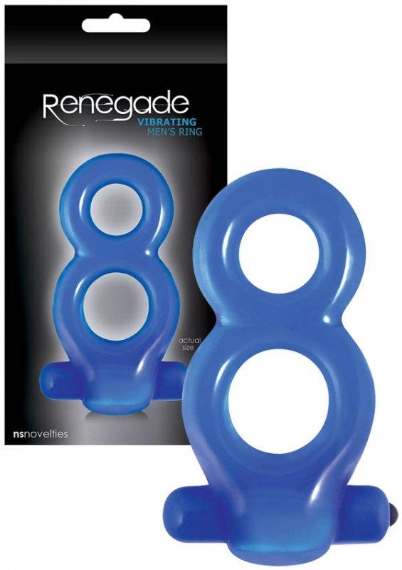 """Renegade Men""""s Ring Blue"""