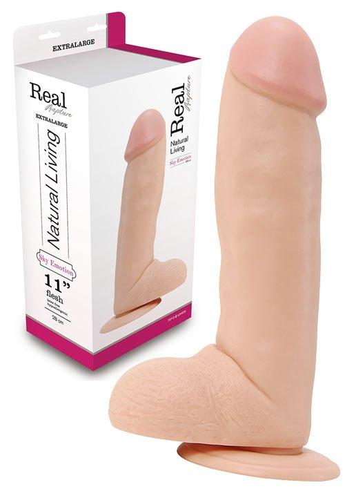 Dildo Real Rapture Flesh 11 Inch
