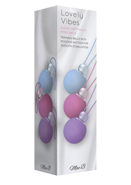 Kegel Balls Pink/Purple/Blue