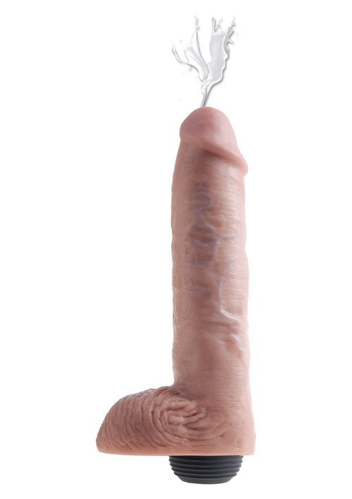 "Kc 11"" Squirting Cock - Flesh"
