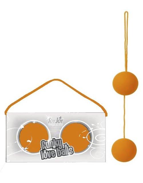 Funky Love Balls Orange