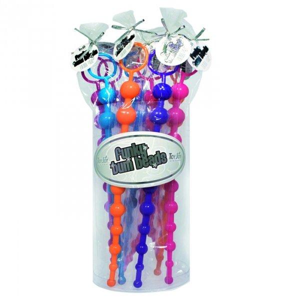 Funky Bum Beads Display 10 Pcs