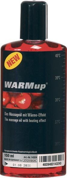 Warmup Kirsch 150 ml
