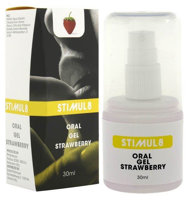 Stimul8 Oral Gel Strawberry 30 ml