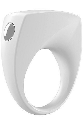 Pierścień erekcyjny Ovo B6 Vibrating Ring White
