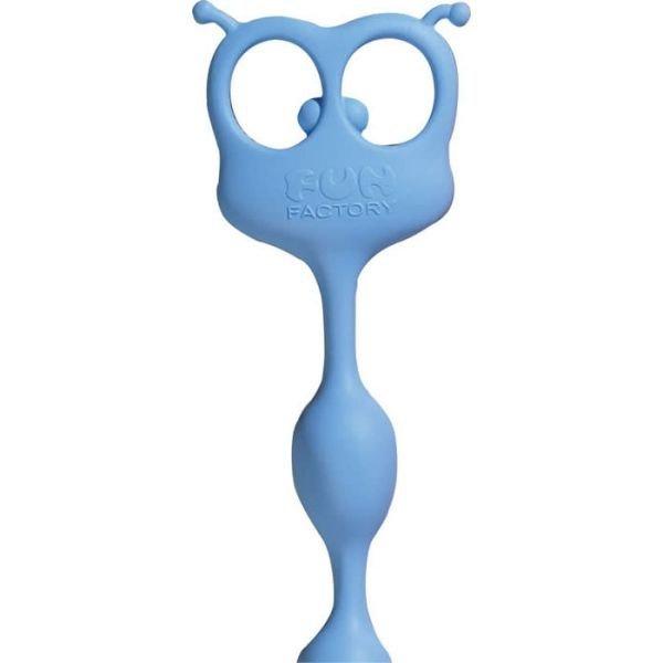 Dildo dla kobiet FUN FACTORY Flexi Felix, cukier niebieski