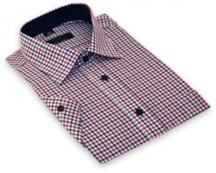 117359d768deb8 Koszula z długim rękawem - w kolorową krateczkę - Długi rękaw