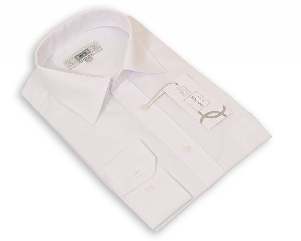 Koszula męska Slim biała z długim rękawem
