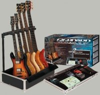Rockcase Effect Pedal Case With Guitar Stand