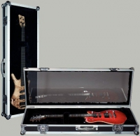 Rockcase Guitar Perspex Show Case Bass