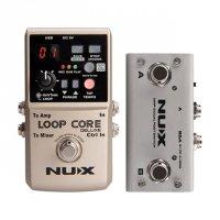 NUX Loop Core Deluxe Looper +Pedal NMP-2 DUAL