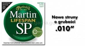 Martin MSP-7000 struny gitary akustycznej MSP Lifespan