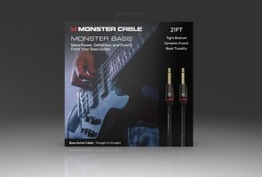 Monster® - M BASS2-21 WW - Prolink Monster Bass® 1/4 Kabel Instrumentalny - 21 ft - Jack Proty - Jack Prosty