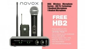 Novox FREE HB2 zestaw bezprzewodowy