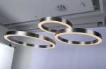 Lampa wisząca RING 60 srebrna