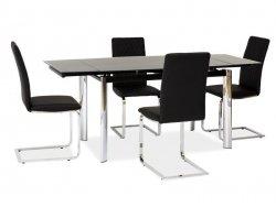 Stół rozkładany GD020 czarny