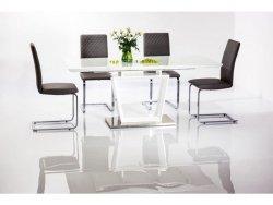 Stół rozkładany LAUREN 140(180)x85 biały