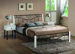 Łóżko PARMA 160x200 biały/czarny