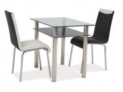 Stół MADRAS 90x60 chrom