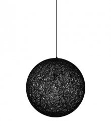 Lampa wisząca LUNA 60 czarna