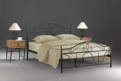 Łóżko DENVER 160x200 czarne