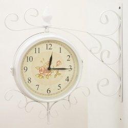 Zegar ścienny - RETRO biały