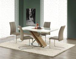 Stół NEXUS ekstra biały/dąb sonoma